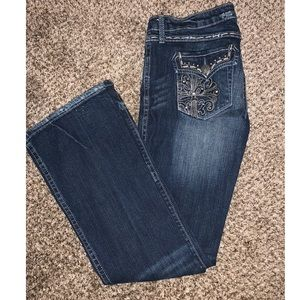 Wrangler Rock 47's Low Rise Boot Cut size 5